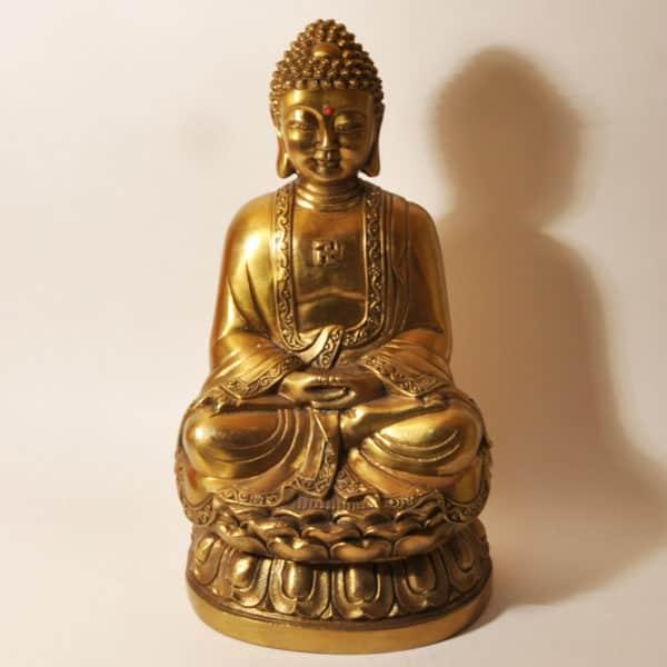 Будда из бронзы