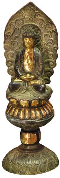 Фигурка Будды из бронзы