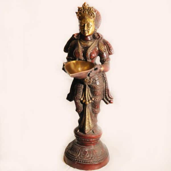бронзовая статуэтка Лакшми