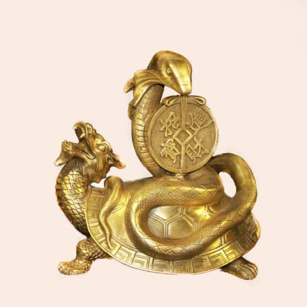 Драконочерепаха со змеей