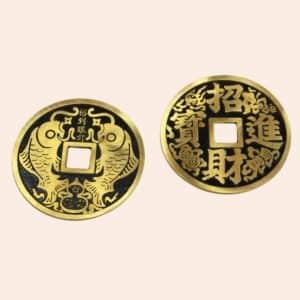 Монета Два Карпа