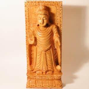 деревянная фигурка Будды