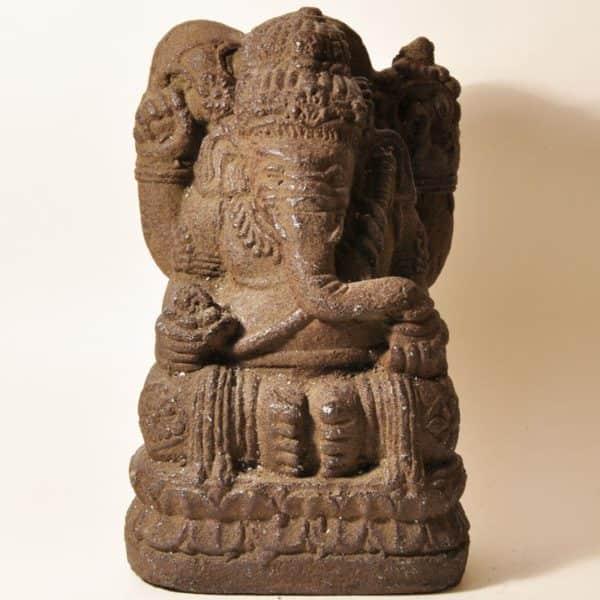 каменная статуэтка Ганеша