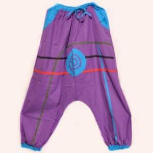 Фиолетовые шаровары Солнце Непала
