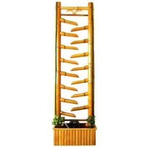 Фонтан напольный бамбук