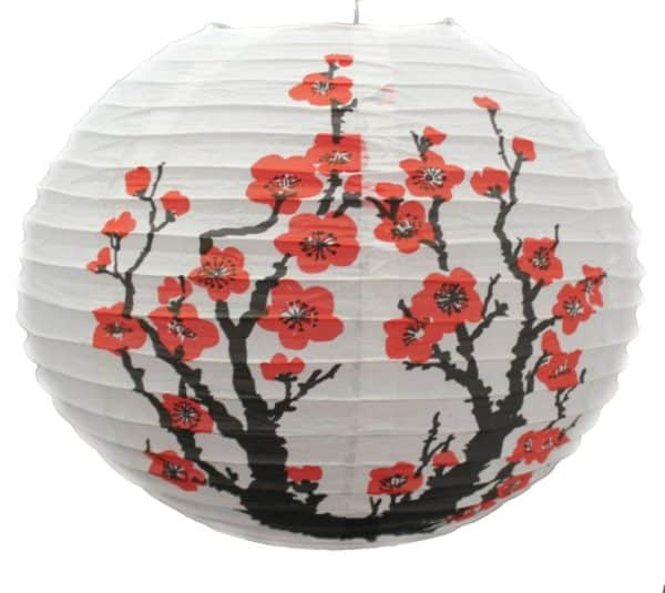 Подвесной фонарик с сакурой