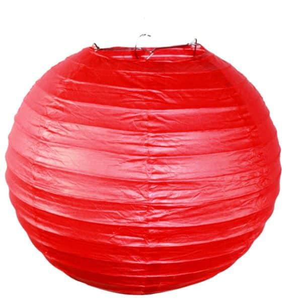Подвесной фонарик красный