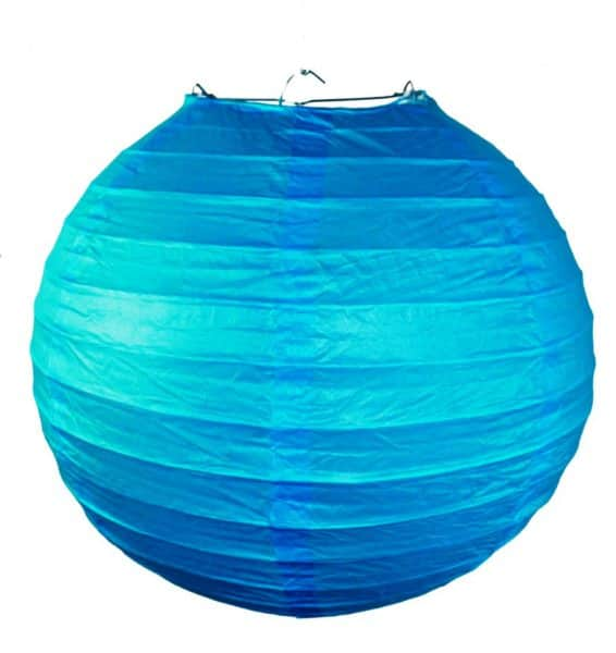подвесной фонарик синий