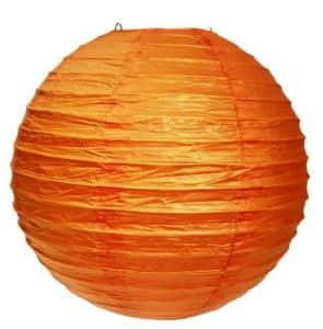 подвесной фонарик оранжевый