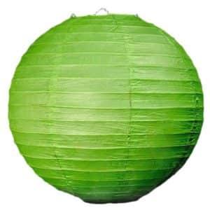 подвесной фонарик зелёный