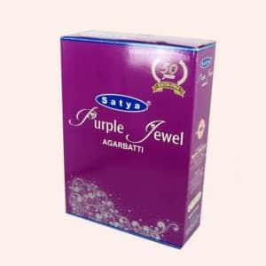 Благовония SATYA Purple Jewel Фиолетовая Драгоценность 20г