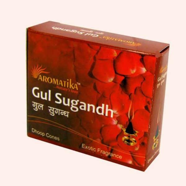 Благовония конусы Gul Sugandh