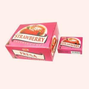 Благовония конусы HEM Strawberry Клубника