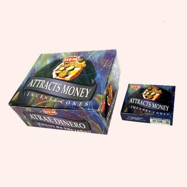 Благовония конусы HEM Attract Money Денежные