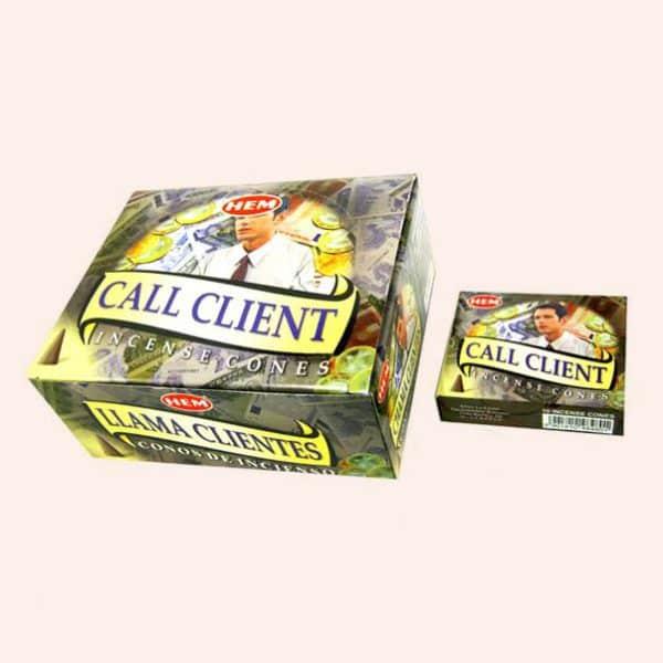 Благовония конусы HEM Call Client Привлечь Клиента