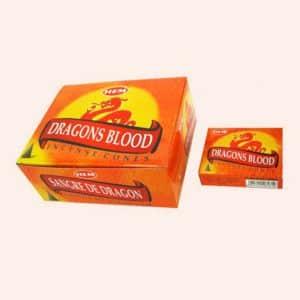 Благовония конусы HEM Dragon Blood Кровь Дракона