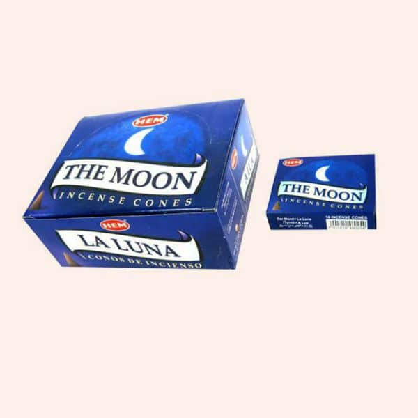 Благовония конусы HEM Moon Луна
