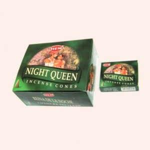 Благовония конусы HEM Night Queen Ночная Королева