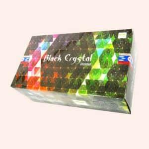 Благовония SATYA Black Crystal Чёрный Кристал 15г
