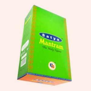 Благовония SATYA Mantram Мантрам 15г