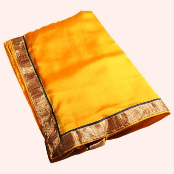 Желтое сари