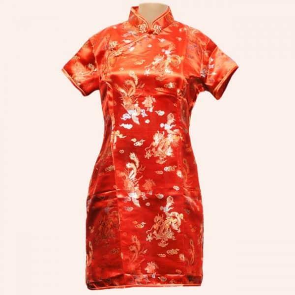 Традиционное китайское платье