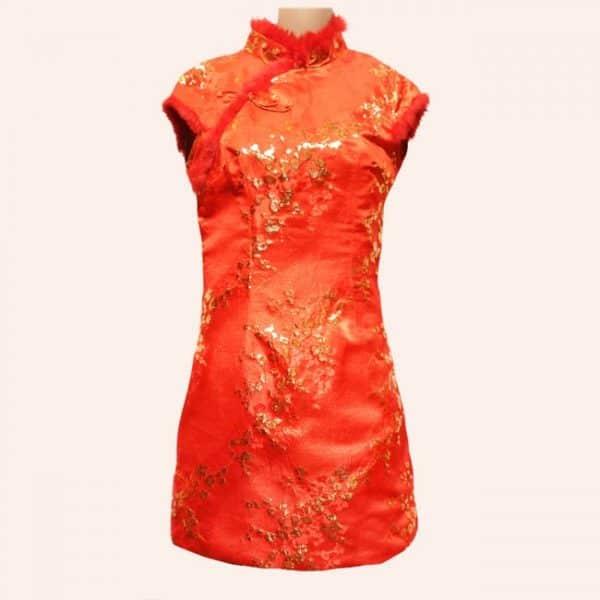 Китайское платье ципао