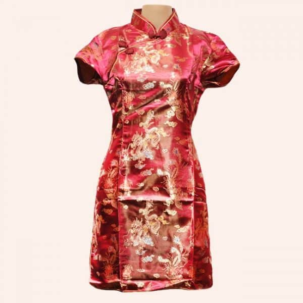 Китайское платье с драконом