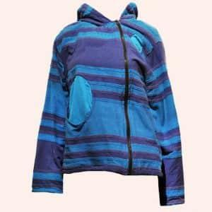 Сине-бирюзовая куртка