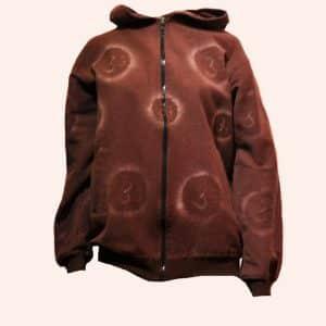 Коричневая непальская куртка Аум