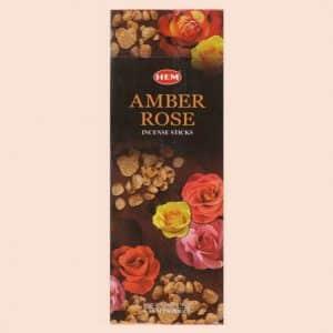 Благовония HEM Amber Rose Амбер Роза