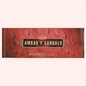 Благовония HEM Amber Sandal Амбер Сандал