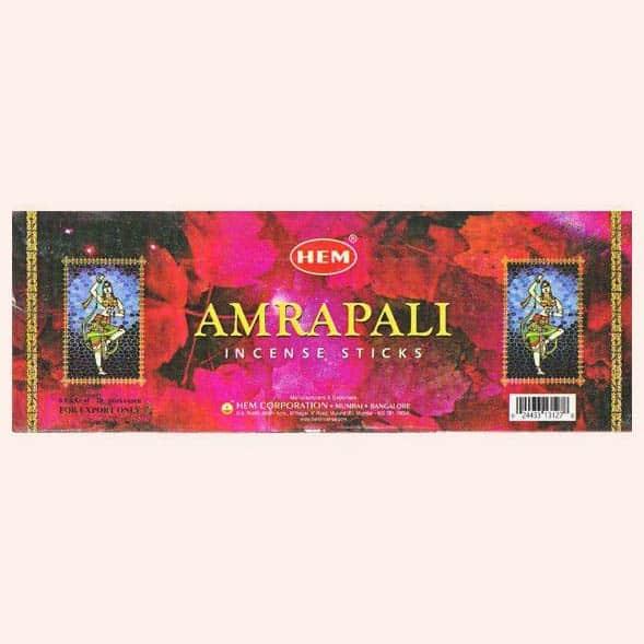Благовония HEM Amrapali Амрапали