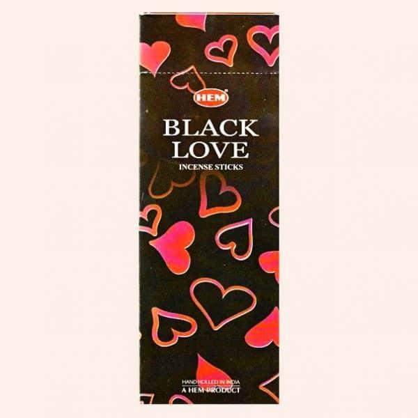 Благовония HEM Black Love Чёрная Любовь
