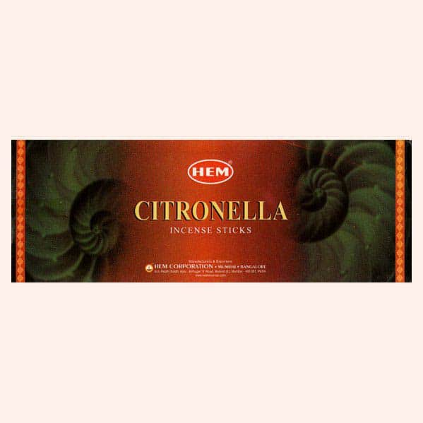 Благовония HEM Citronella Цитронелла