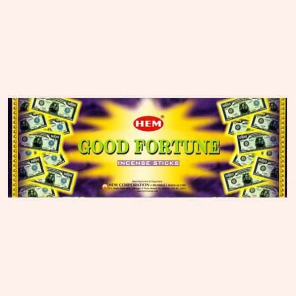 Благовония HEM Good Fortune Фортуна
