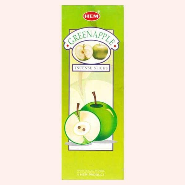 Благовония HEM Green Apple Зелёное Яблоко
