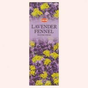 Благовония HEM Lavender Fennel Лаванда Фенхель