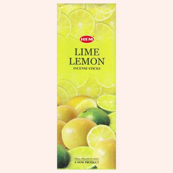 Благовония HEM Lime Lemon Лайм Лимон