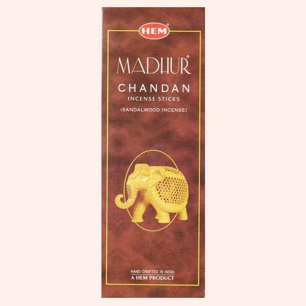 Благовония HEM Madhur Chandan Чандан