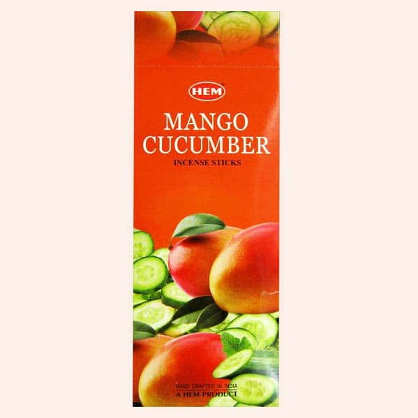 Благовония HEM Mango Cucumber Манго Огурец