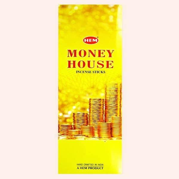 Благовония HEM Money House Дом Денег