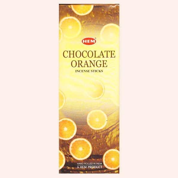 Благовония HEM Orange Chocolate Апельсин Шоколад