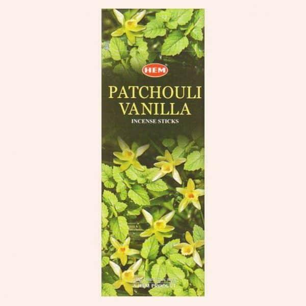 Благовония HEM Patchouli Vanilla Пачули Ваниль
