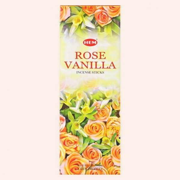 Благовония HEM Rose Vanilla Роза Ваниль