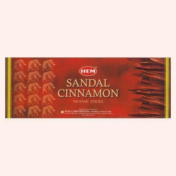 Благовония HEM Sandal Cinnamon Сандал Корица