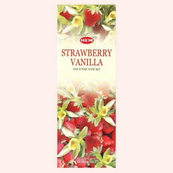 Благовония HEM Strawberry Vanilla Клубника Ваниль