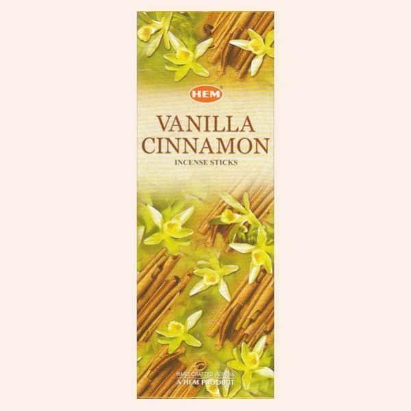 Благовония HEM Vanilla Cinnamon Ваниль Корица