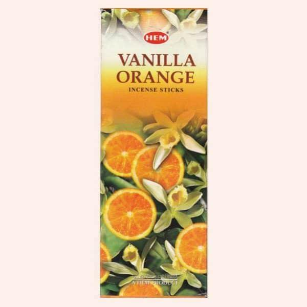 Благовония HEM Vanilla Orange Ваниль Апельсин
