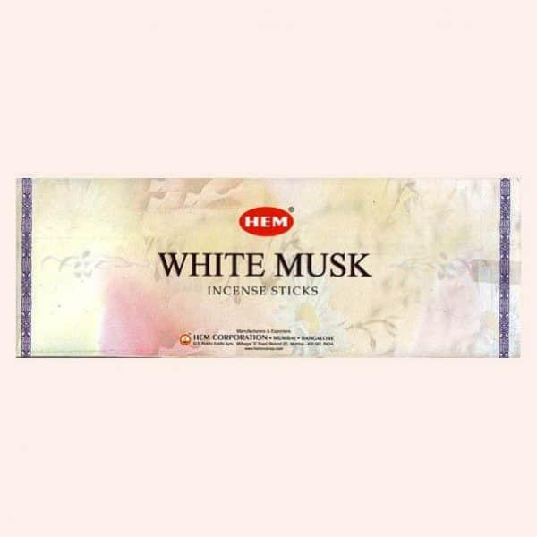 Благовония HEM White Musk Белый Муск